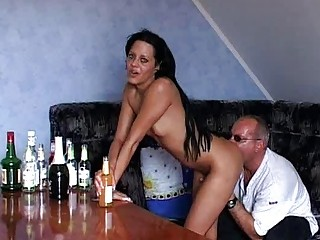 old  man licks and fucks a drunken party girl nice