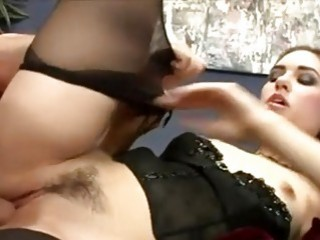 Amazingly Marvelous Sasha Grey Acquires Her Tight Twat Whacked On The Couch
