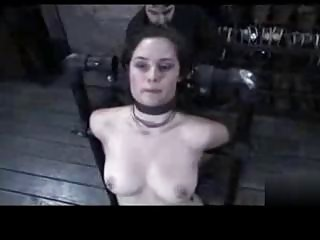 slave tied up and spanked