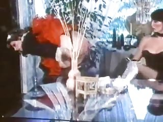 Strict hostess punishes her maid