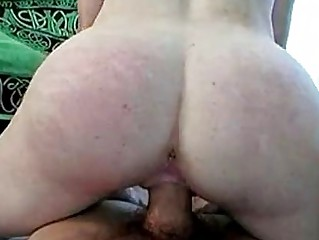 Anna May   Hairy redhead with lactating tits