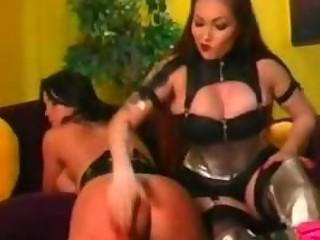Lesbian Spanking Punishment for Nora