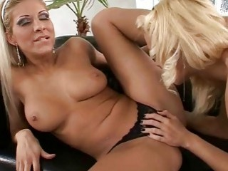 Sophie Moone and Clara G in lesbian foot sex