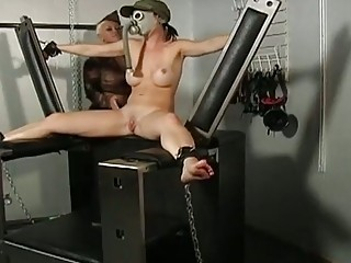 Hot Army Babe Forced To Squirt I...