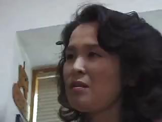 Brunette Asian mom wants to suck a thick fuck stick