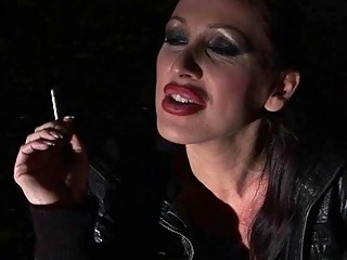 Mistress punishing busty sex slave