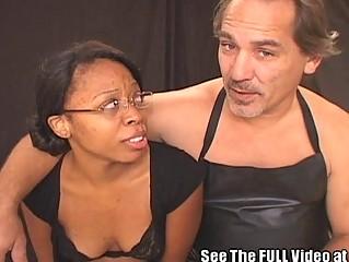 Hot Ass Black Slut Jizzed on Nice Ass!