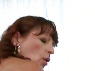 Naughty granny fucking a boy