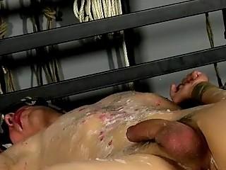 Gay XXX Reece has a jism blast in his man rod prepared to be spunked