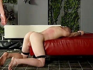 Hot gay scene Fucked And Milked Of A Load