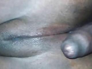 Amateur Ebony BBW fucked in the ass
