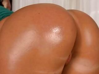 Curvy hottie enjoys riding on top of a hard penis