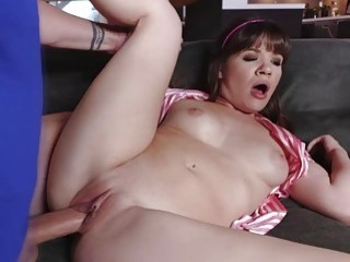Sweet babe Alison Rey and Iris Rose spread thier l