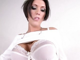 Sensually hot Dylan Ryder cant wait to get dirty alone with her sexy body
