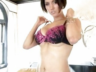 Rockin hot Dylan Ryder rubbing her pussy softly until she reaches climax