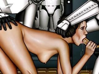 Star Wars xxx toon parody