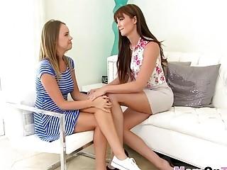 Hot Teen Alexis Adams Fucks In Threesome With Naughty Mom Bianca Breeze