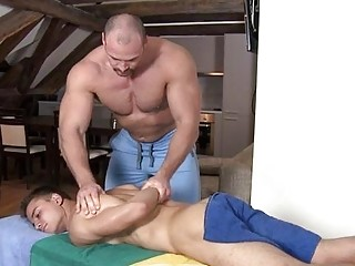 Two dudes sucking every others thick cocks