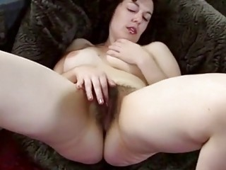 Plump Israeli mom shows her hairy fuck hole and armpits