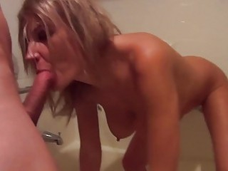 Busty polish MILF flashes her pussy and tits in public