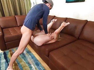 stepsister rough fucked like a real flexi doll