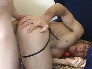 Horny Gay Couple In Anal Sex