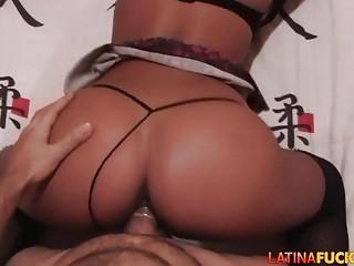 Big booty latina amateur home sex tape POV