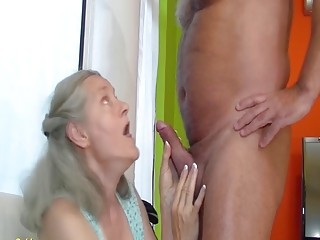 72 years old mom rough fucked by grandpa