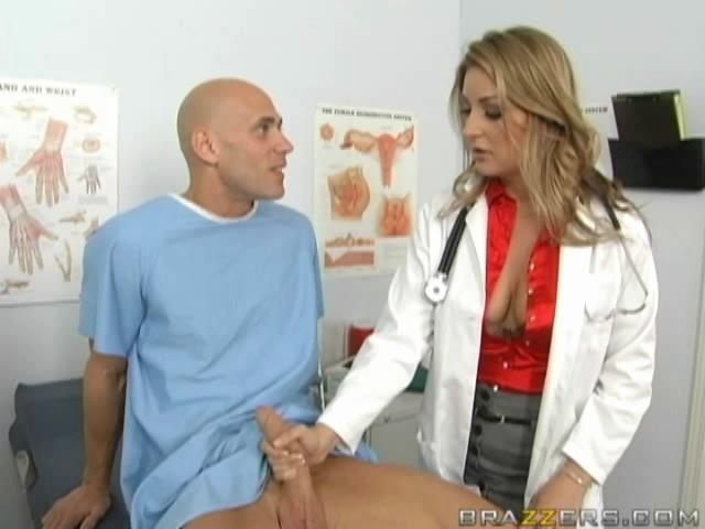 Lusty Blonde Doctor Jerks Off Her Patients Big Bone3r Sunporno